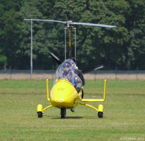 Gyrocopter / helicopter for two people
